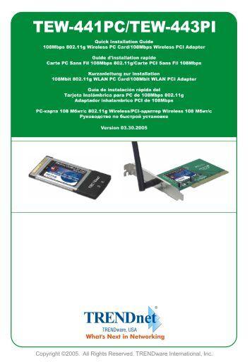 quick installation guide tew 432brp trendnet Quick Start Guide Windows 7 Windows 8 Quick Start Guide