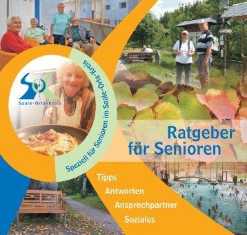 Ratgeber für Senioren im Saale-Orla-Kreis - Sen-Info