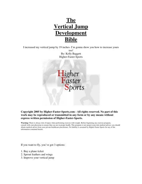 The Vertical Jump Development Bible While you wear these boots, your walking speed becomes 30 feet, unless your walking speed is higher, and your speed isn't reduced if you are encumbered or wearing heavy armor. yumpu