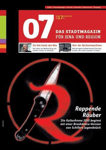 Ausgabe 17 - 07 Das Stadtmagazin . BLOG