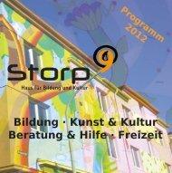 Das neue Storp9 Programm 2012 als PDF hier