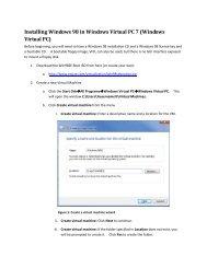 Windows 95&98 guest OS pdf - Dodo