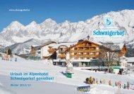Winterpreisliste als PDF downloaden - Schwaigerhof