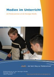 Medien im Unterricht an unserer Schule - Förderzentrum an der ...