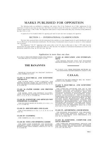 20 August 2002 - U.S. Patent and Trademark Office