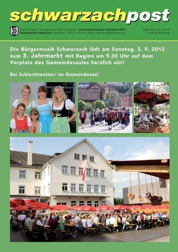 Vereine - Schwarzach