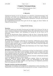Computer-Nutzungsordnung - Friedrich-Rückert-Gymnasium Ebern