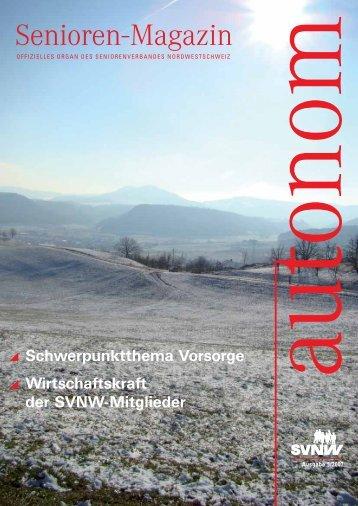 autonom - Seniorenverband Nordwestschweiz