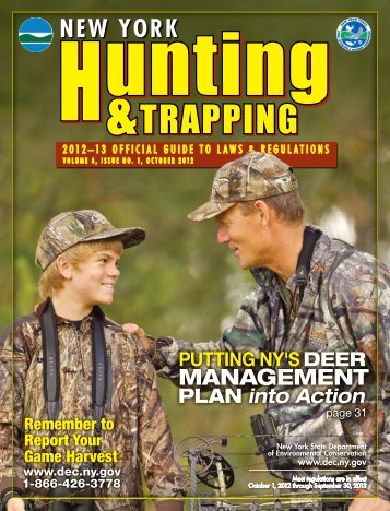 2012-2013 Hunting & Trapping Regulations Guide - New York State ...