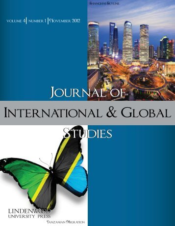 Journal of International & Global Studies - Lindenwood University