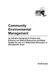 Community Environmental Management - Erie County Soil & Water ...