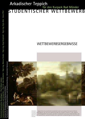 STUDENTISCHER WETTBEWERB - Institut für Landschaftsarchitektur