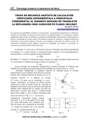 42 Tehnologii moderne în laboratorul de fizică TRUSA DE ...