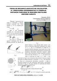 Laboratorul de fizică 55 TRUSA DE MECANICĂ ASISTATĂ DE ...