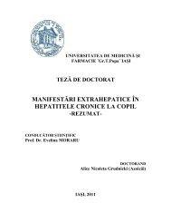 manifestări extrahepatice în hepatitele cronice la copil - Gr.T. Popa