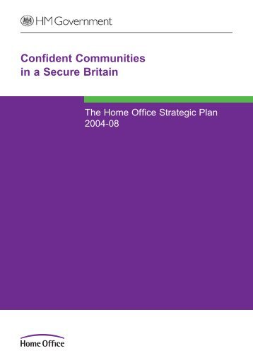 Confident Communities in a Secure Britain - Statewatch