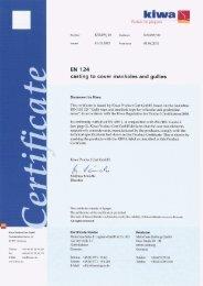 Kiwa Product Cert GmbH - Meierguss