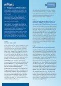 ePost 11 Fragen und Antworten - CONFIDENCEpost.de - Page 2