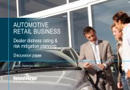Automotive Retail Business Study (PDF, 1698 KB) - Roland Berger