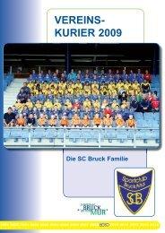 Vereinskurier 2009 - SC Bruck