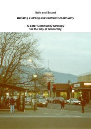 Safe and Sound Building a strong and confident - Glenorchy City ...