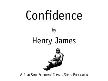 Confidence - Pennsylvania State University