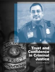 Trust and Confidence in Criminal Justice - National Criminal Justice ...