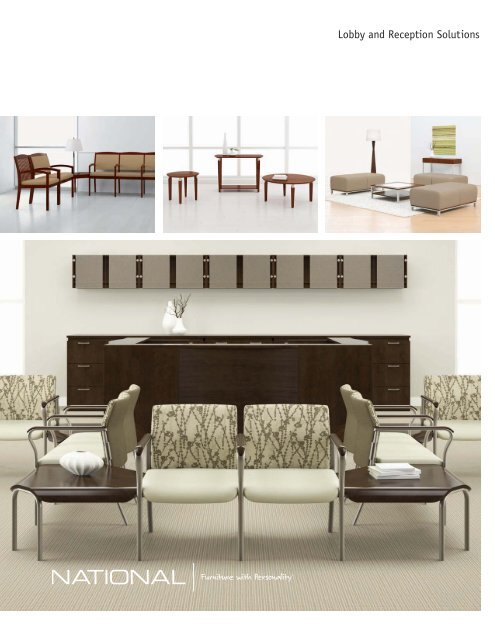 Lobby and Reception Solutions - National Office Furniture