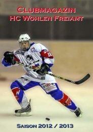 Saisonheft 2012/2013 - HC Wohlen Freiamt