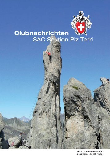 Apparate- und Rohrleitungs bau in Edelstahl - SAC Sektion Piz Terri
