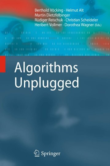 Algorithms Unplugged