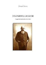 Giuseppe Giacosa UNA PARTITA A SCACCHI