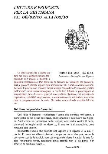 Venerdì 12 febbraio – ore 21 - Arcidiocesi di Torino
