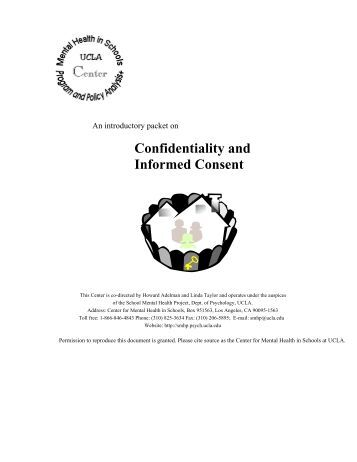 confidentiality in mental health About confidentiality at health & wellness health & wellness is committed to protecting the privacy and confidentiality of all patient/client health information our.