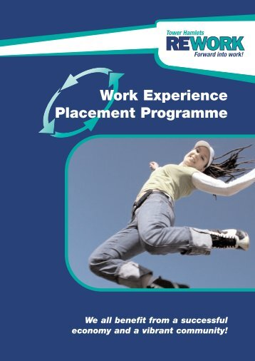 Work Experience Placement Programme - Working Well Trust