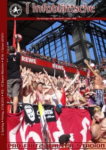 1.FC Kaiserslautern - Der Betze brennt