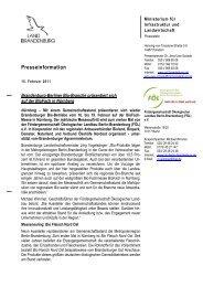 Presseinformation - Fördergemeinschaft Ökologischer Landbau ...