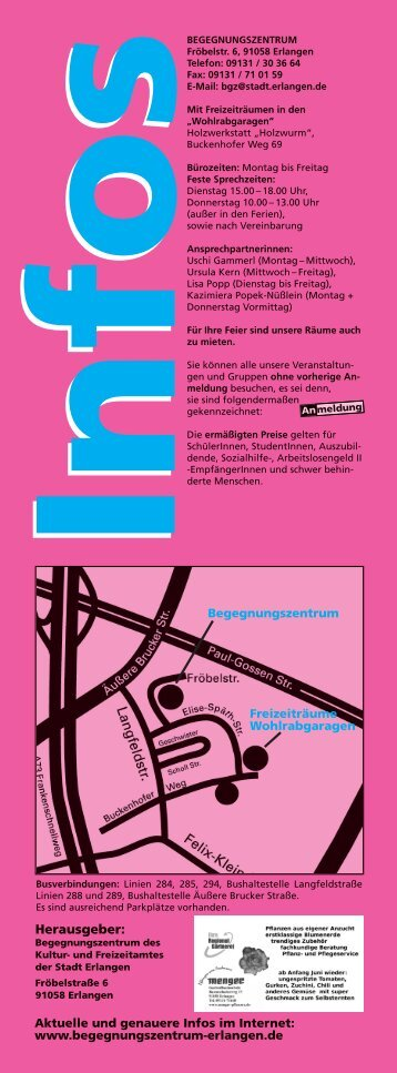 Programm - Begegnungszentrum-Erlangen