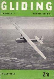 Volume 1 no 4 winter 1950-51 - Lakes Gliding Club