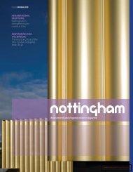 Far left: River Crescent - Invest in Nottingham