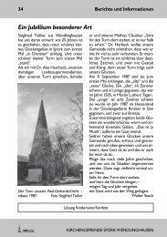 Ein Jubiläum besonderer Art - Kirchengemeinde Spork ...