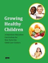 Growing Healthy Children - NYC.gov