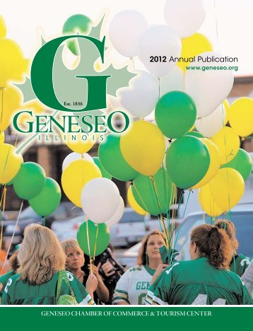 2012 Annual Publication - Geneseo Chamber of Commerce