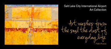 Art Collection, continued - Salt Lake City International Airport