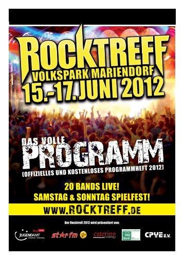 für Kinder und Jugendliche - Rocktreff