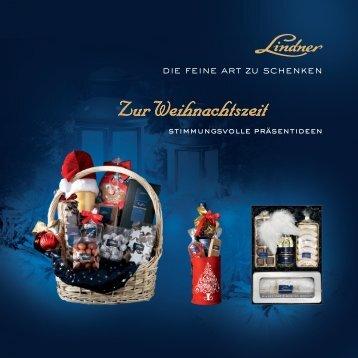 Zur Weihnachtszeit - Lindner