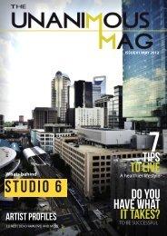 studio 6 - unanimous music group