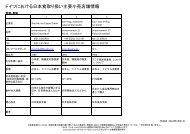 ドイツにおける日本食取り扱い主要小売店舗情報 - JETRO