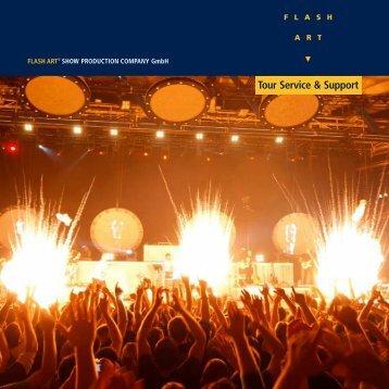 Tour Service & Support - Flash Art GmbH