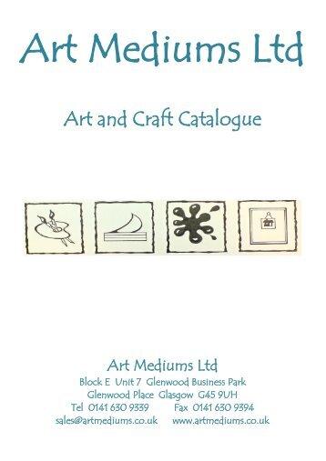 Art and Craft Catalogue - Art Mediums